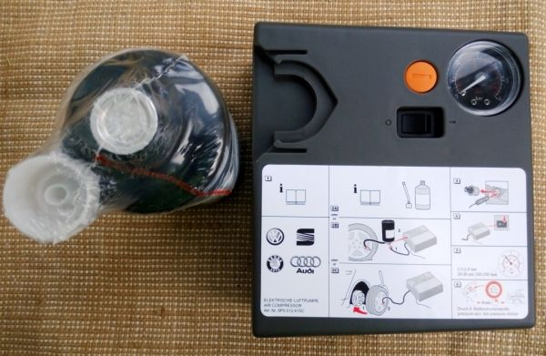 Оригинальный компрессор с герметиком VAG 8P0012615C
